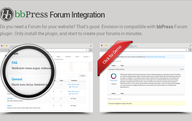 bbpress - Envision - Responsive Retina Multi-Purpose Theme