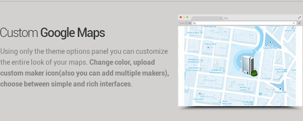 googlemaps - Envision - Responsive Retina Multi-Purpose Theme